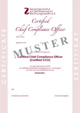 Certified compliance officer zertifikatspr fung - Compliance officer certification programs ...
